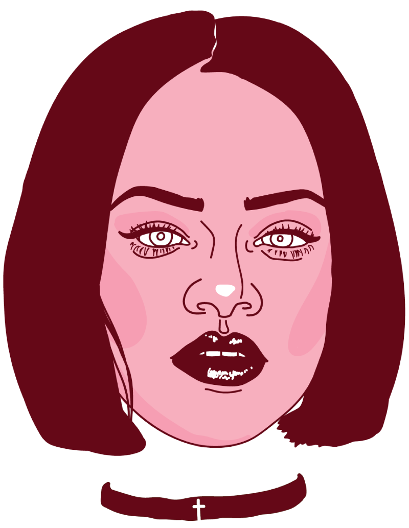 Rihanna Floating Head - Mychal Handley