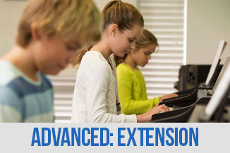 Advanced Extention Music logo