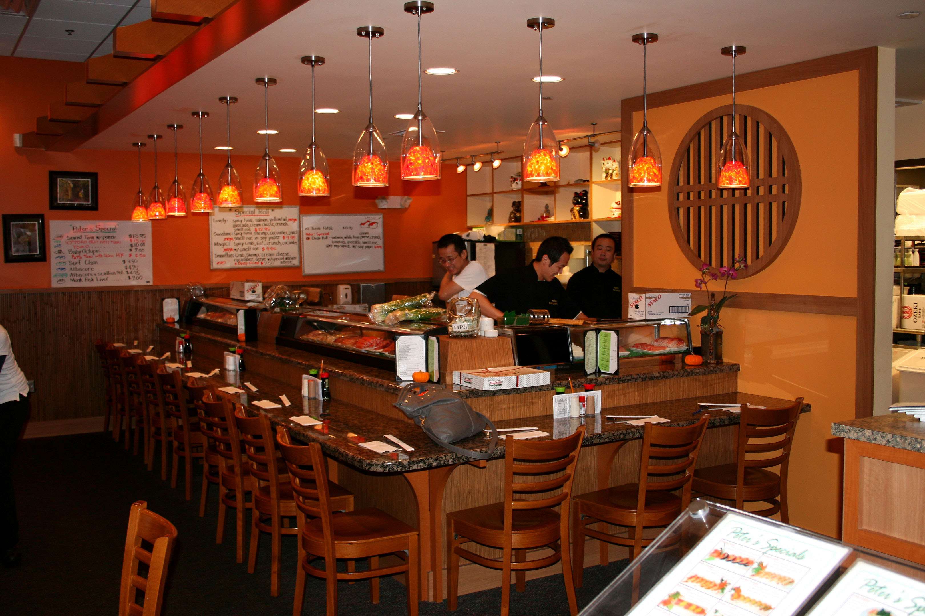 Renovation Design for Peter's Sushi & Thai in Brentwood