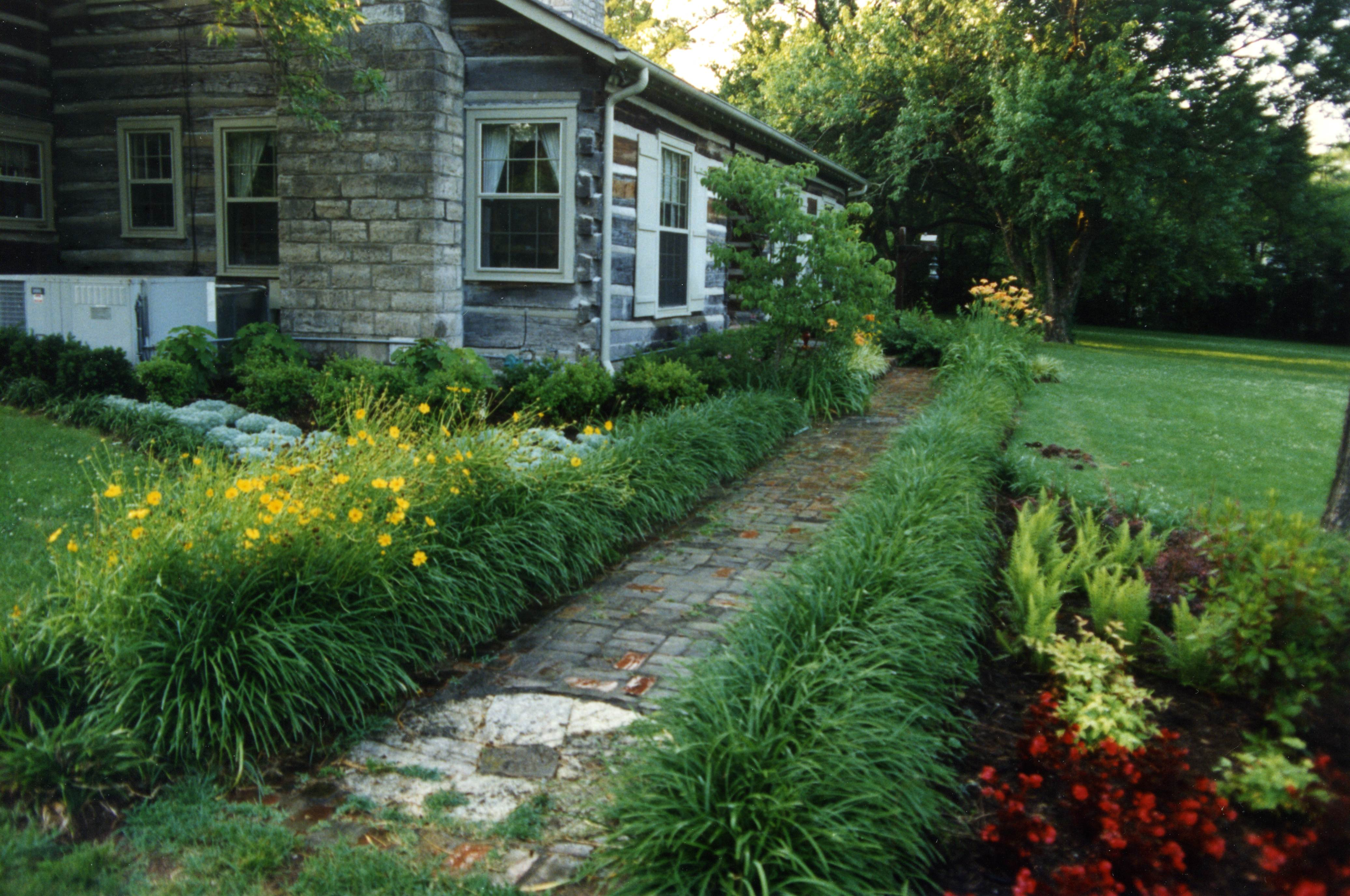 Residential Landscape Design for a Home on Granny White Pike