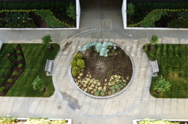 Commercial Landscape Design for a Business on 1101 Kermit Drive