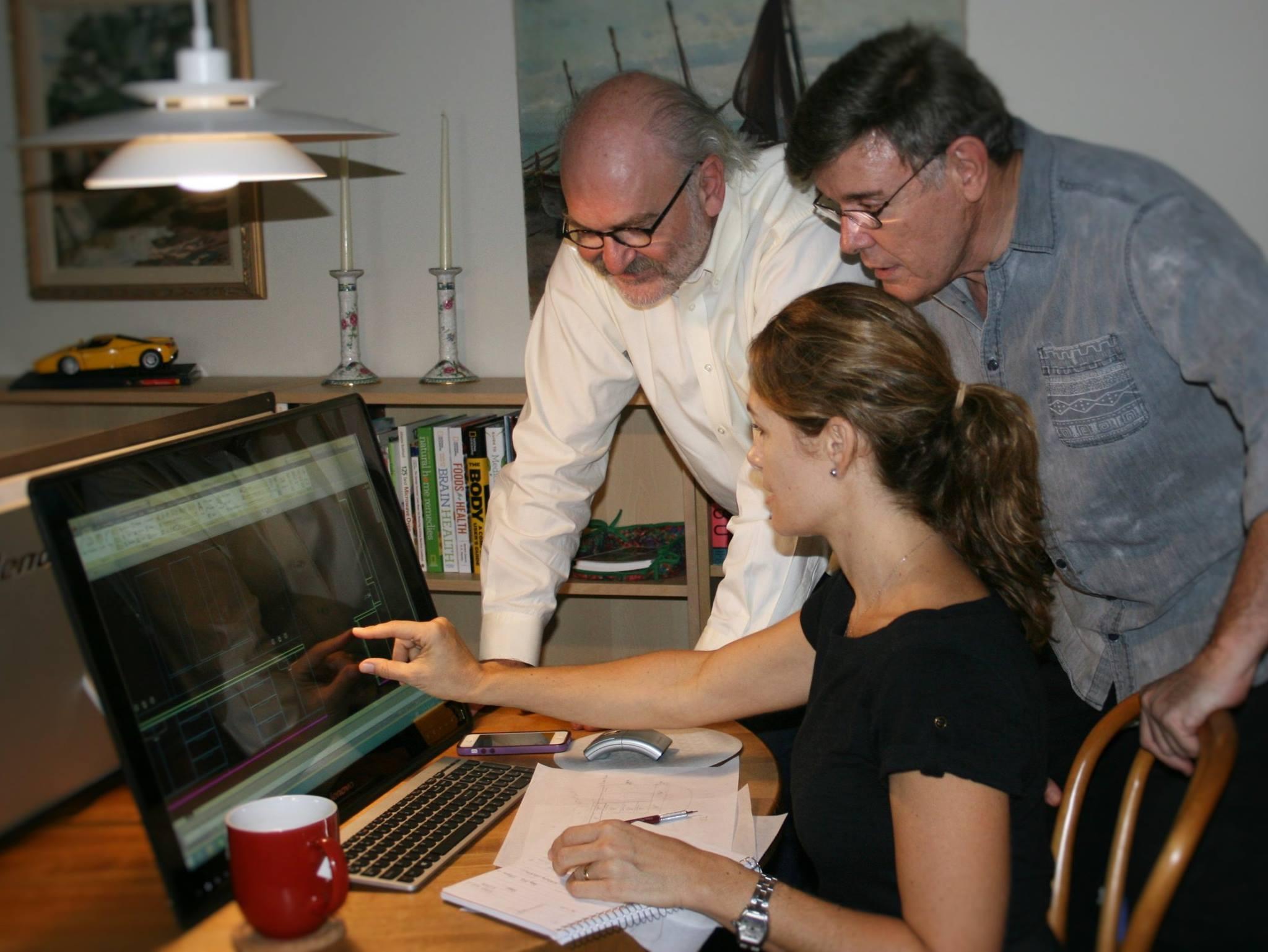 Leo Sapene, Fabian Bedne, & Yvette Phinder