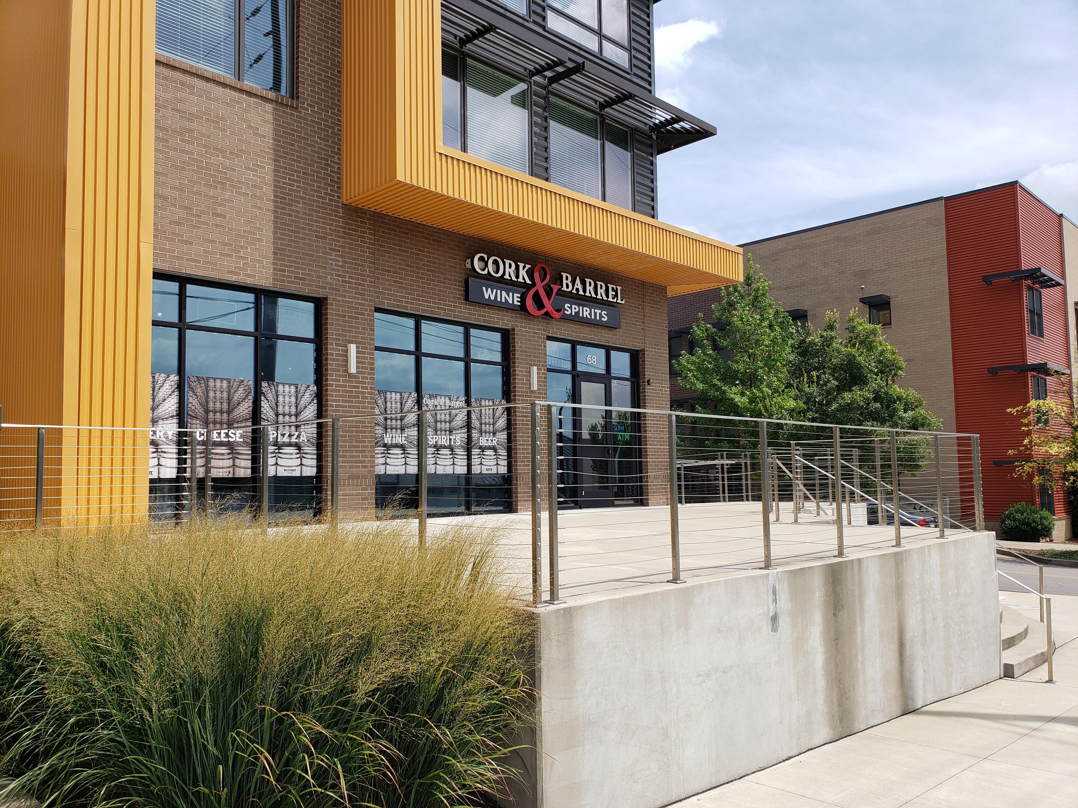 Renovation Design for Cork & Barrel Wine & Spirits in Nashville, Tennessee