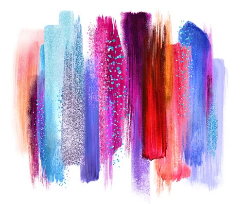Colours blending