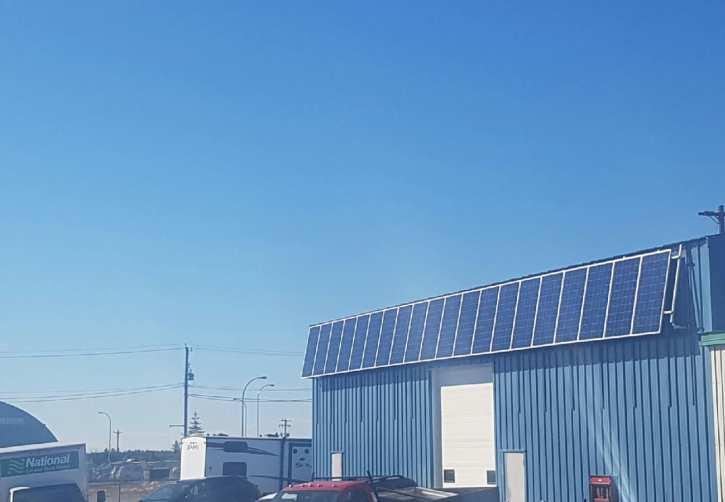 Solar Panels NWT - National Car Rental