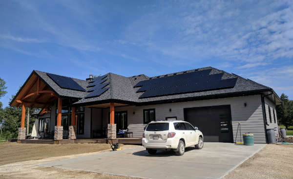 All black solar panels edmonton