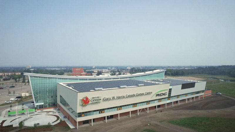 Red Deer College Solar Power