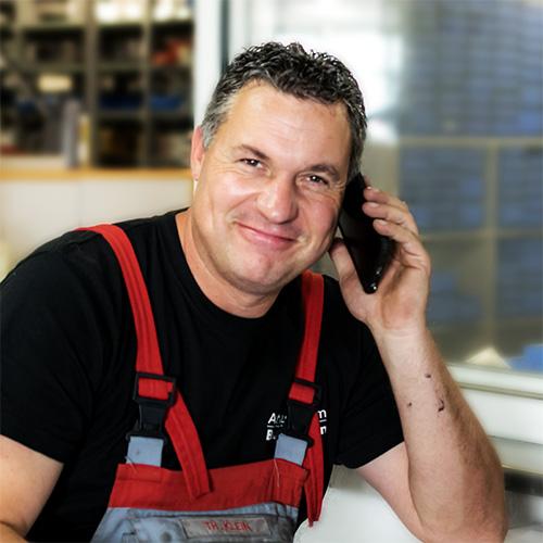 Thomas Klein, Werkstattleiter