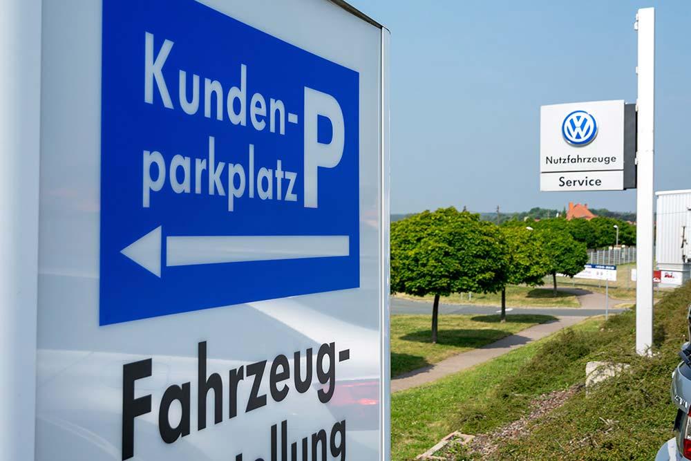 Autozentrum Blankenhain Außenansicht