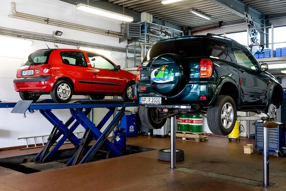 Autozentrum Blankenhain Werkstatt