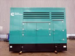 250kw generator rental
