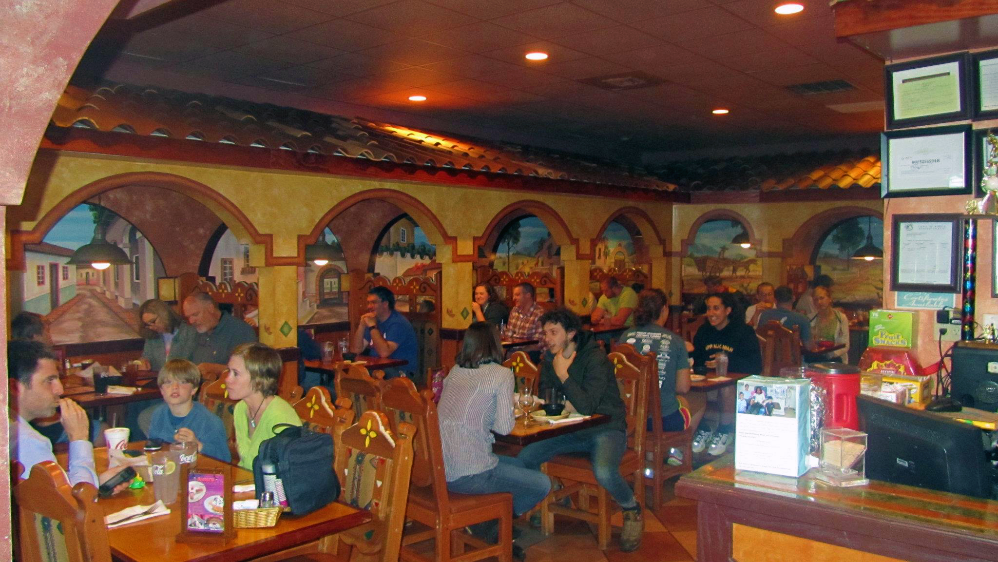 Los Arcoiris Mexican Restaurant In North Carolina