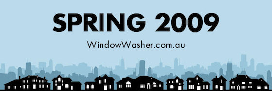 Spring 2009 - window washer