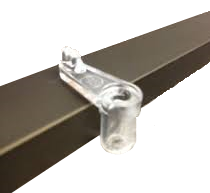 D-Clip which is designed to slide from inside fly screen to release it.