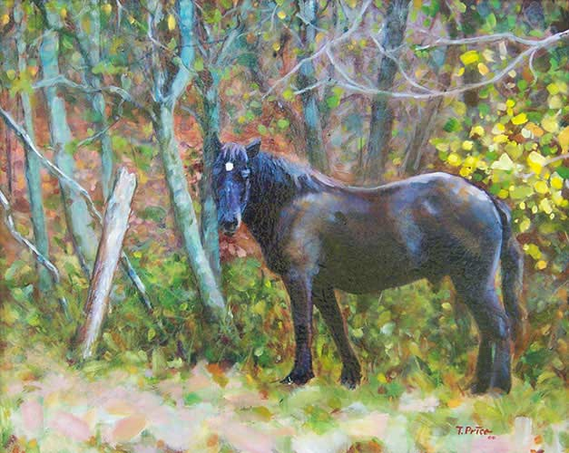 The Workhorse oil on canvas image