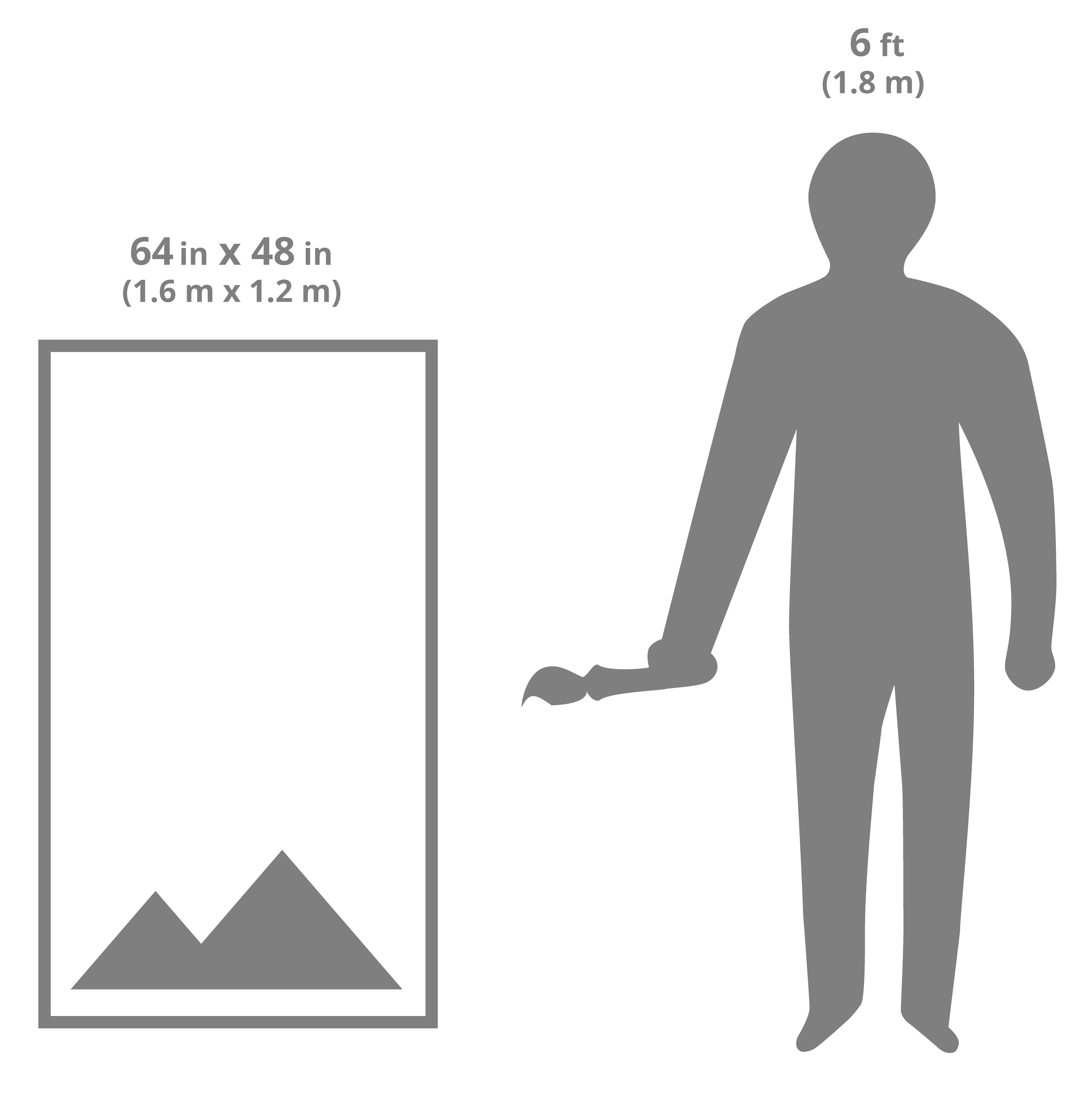 64x48 art sizing scale image