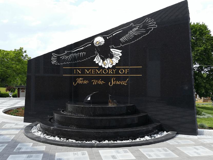 blue ridge veterans memorial image