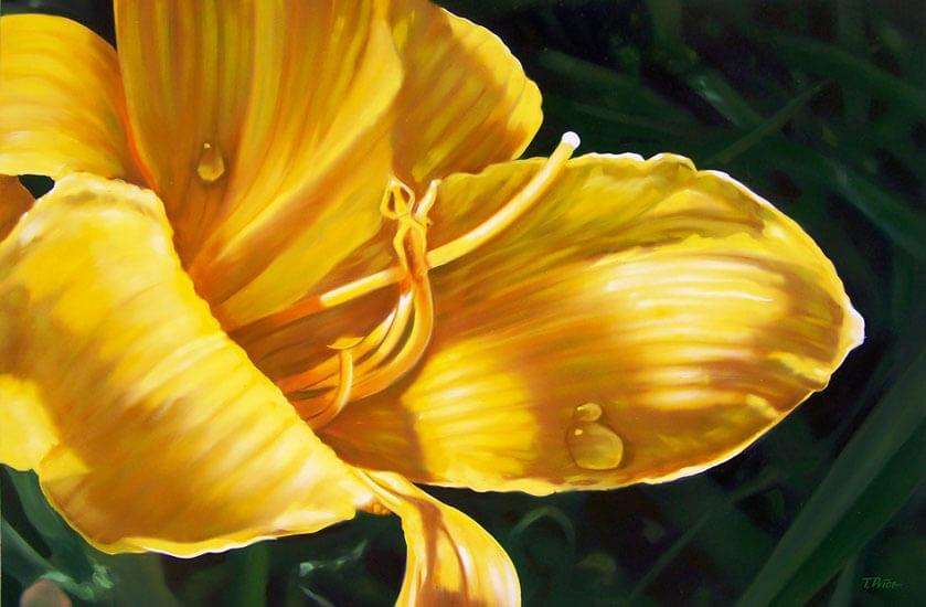 Yellow Day oil painting image