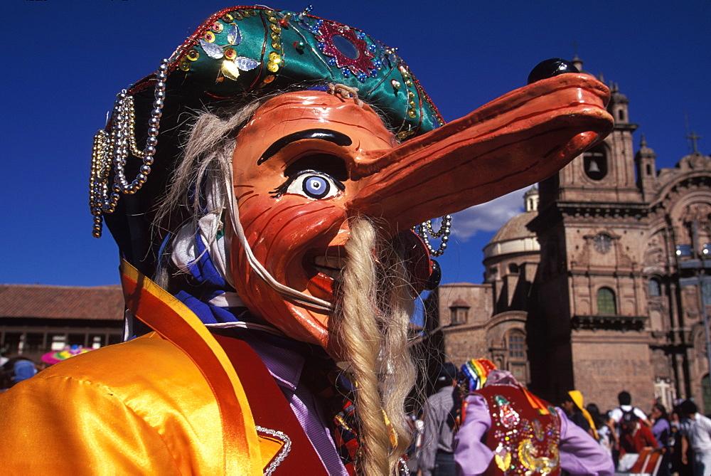Cusco Peru Plaza de Armas HiRes