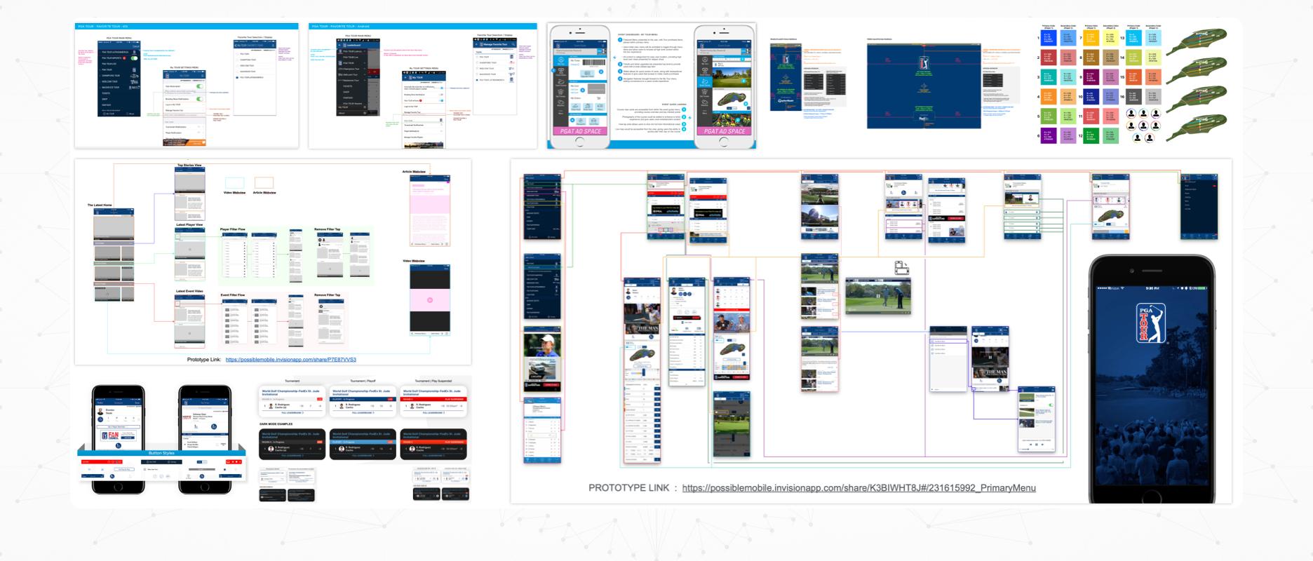 PGA TOUR - Case Study Image - Misc Features