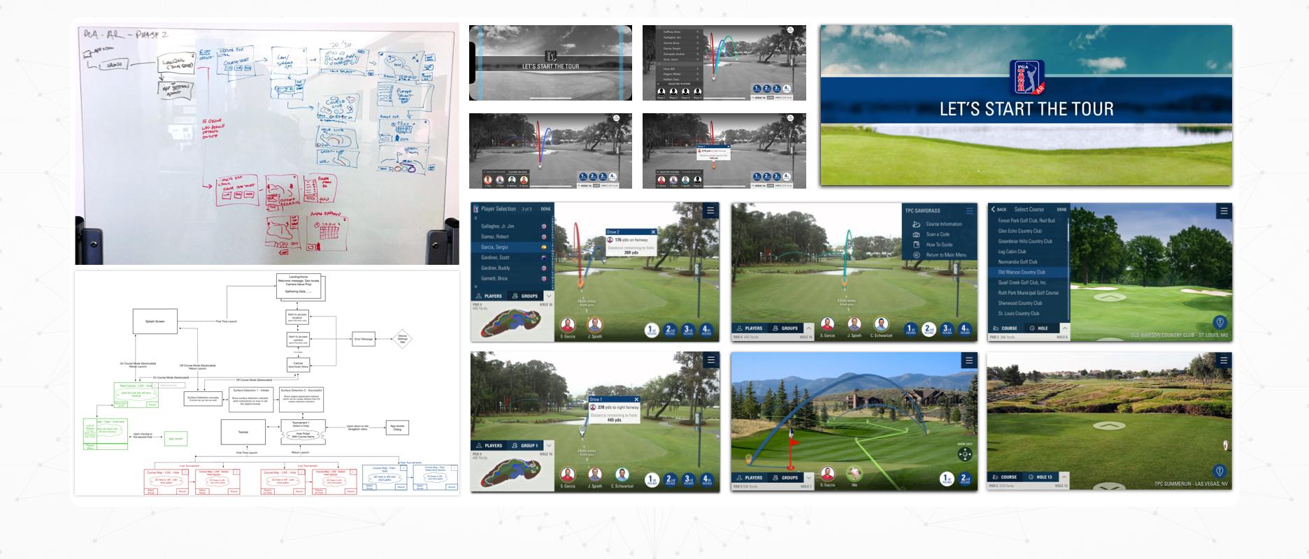 PGA TOUR AR - Case Study Image - Concept Design