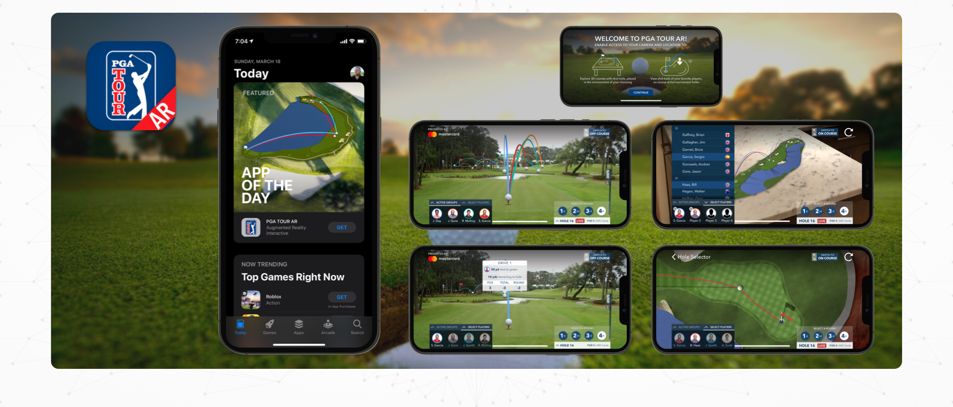 PGA TOUR AR - Case Study Image - Cover