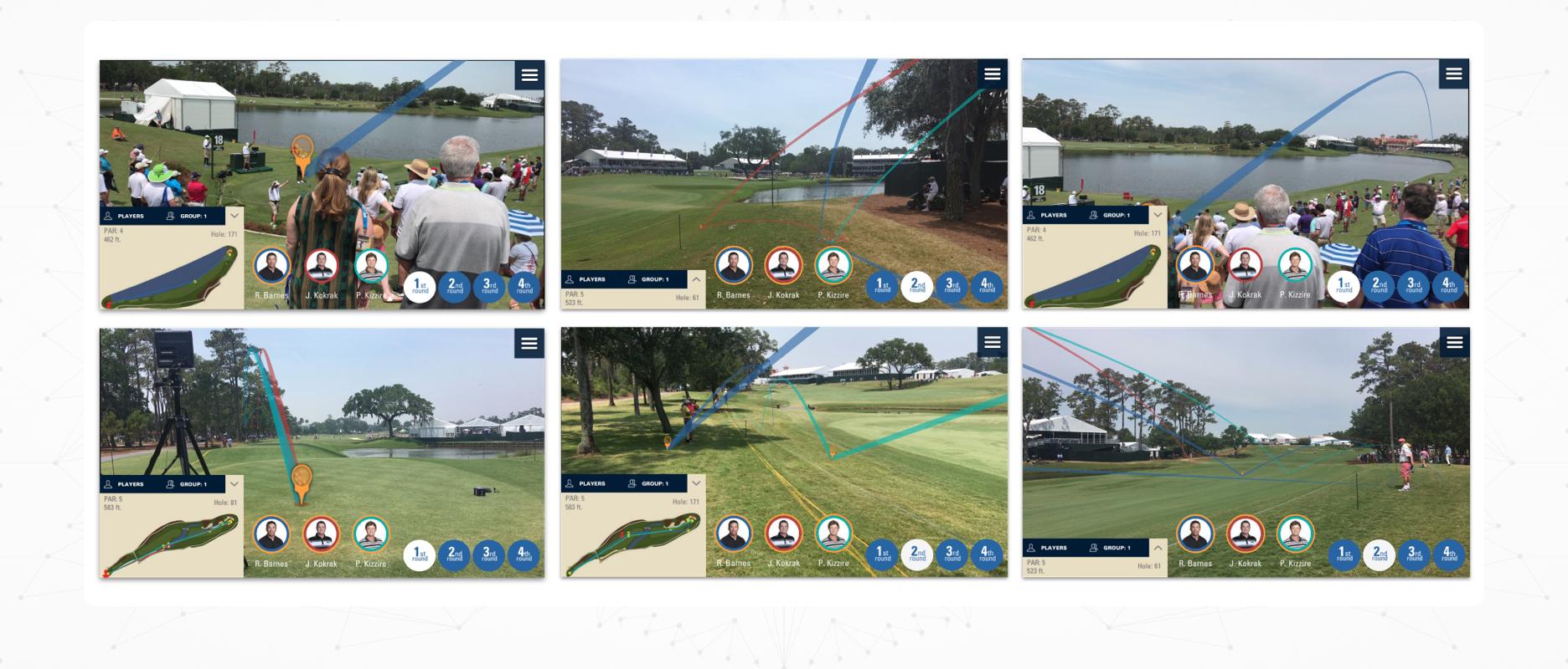 PGA TOUR AR - Case Study Image - User Testing