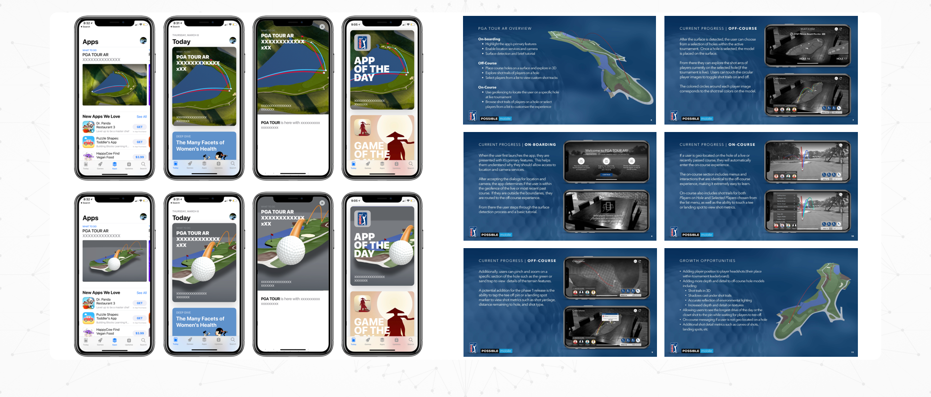 PGA TOUR AR - Case Study Image - Marketing Materials