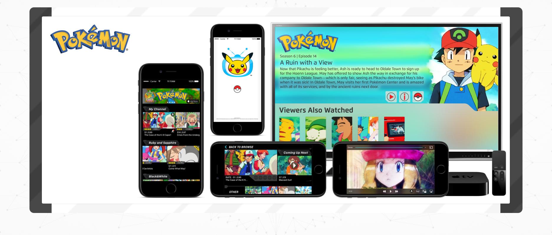 Pokémon TV - Case Study Image - Cover