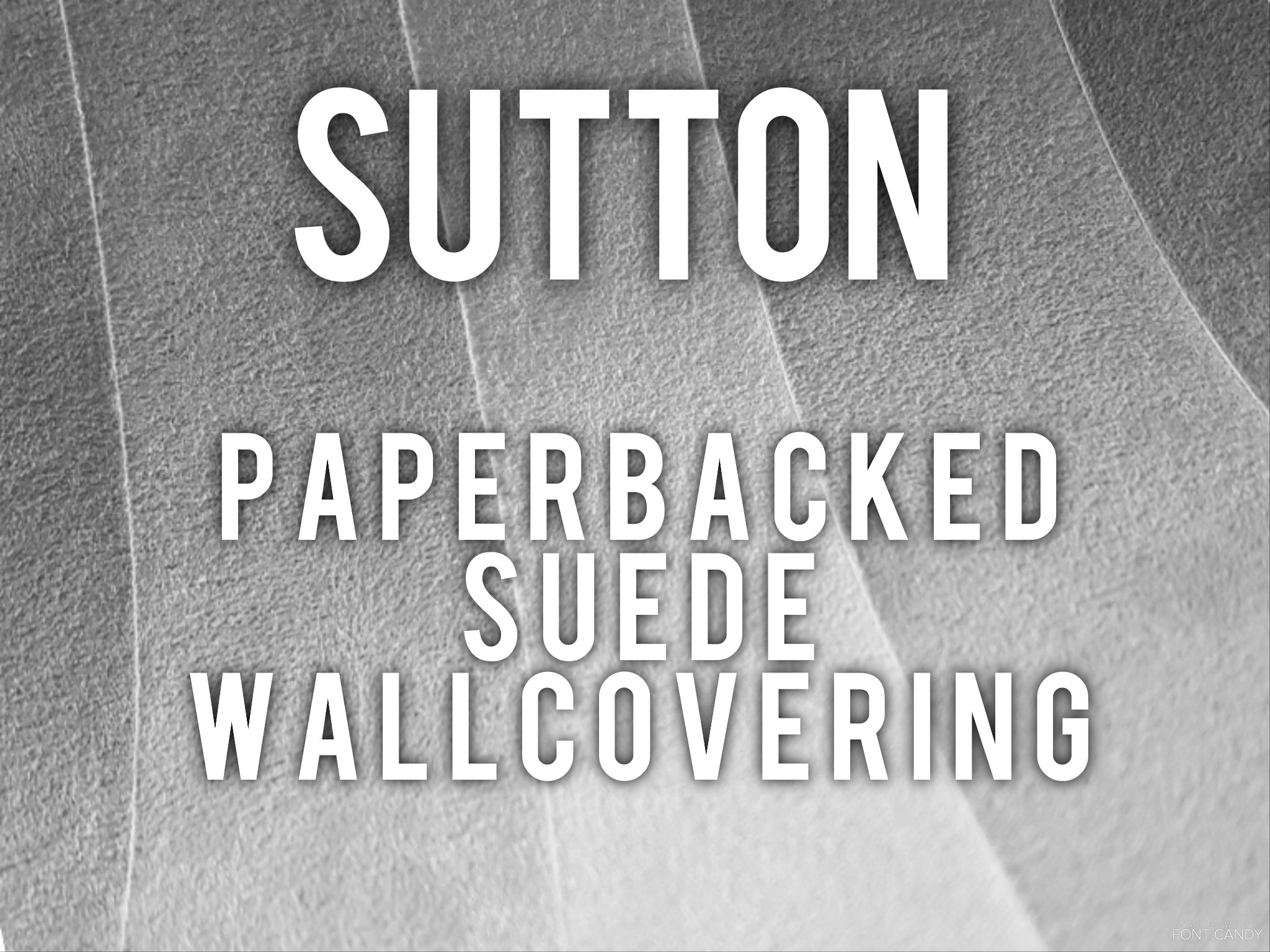Sutton - Paperbacked suede wallcovering