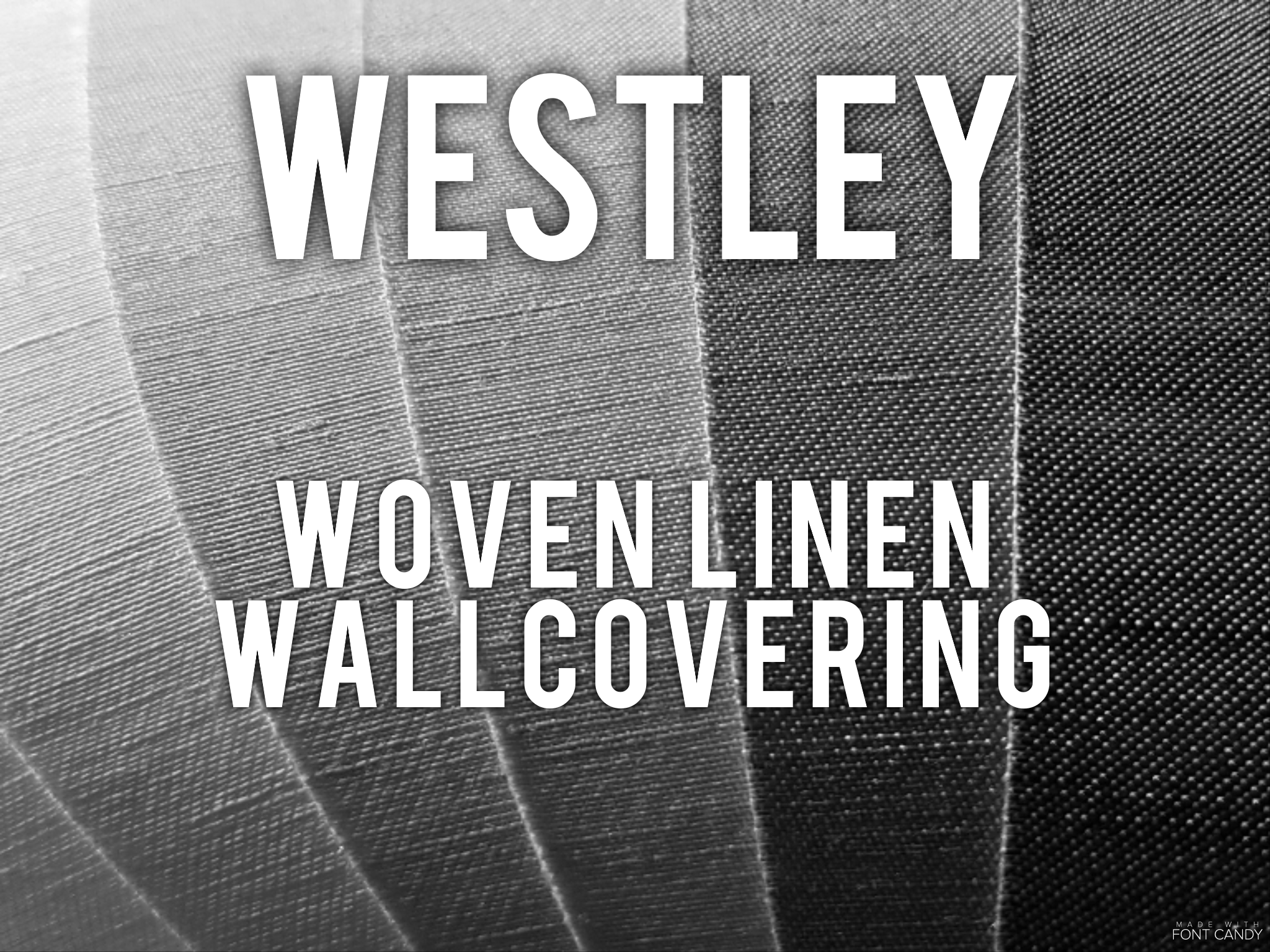Westley - Woven linen wallcovering