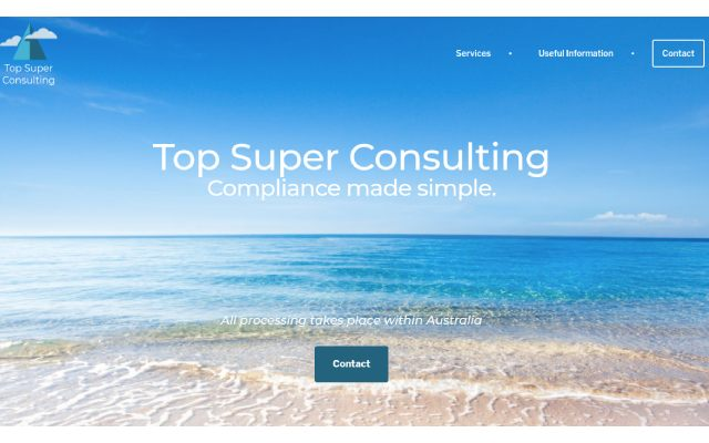 Top Super Consulting website designed and hosted by Maximus Consulting