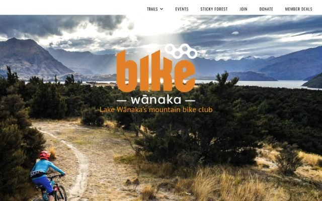Bike Wanaka website designed and hosted by Maximus Consulting