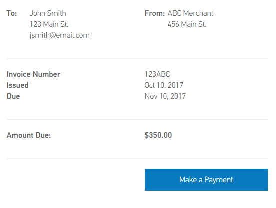 Website Checkout Form