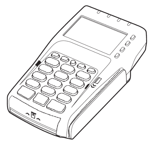 Verifone Credit Card Machine