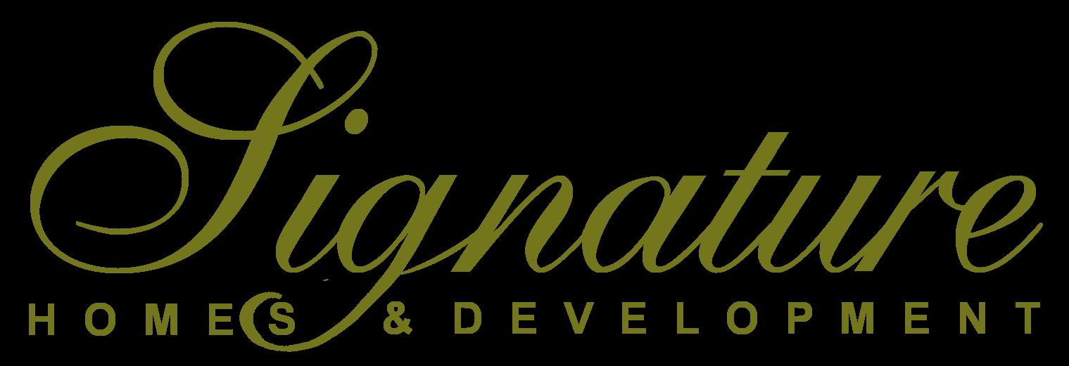 signature homes and development - HEAL Sponsor