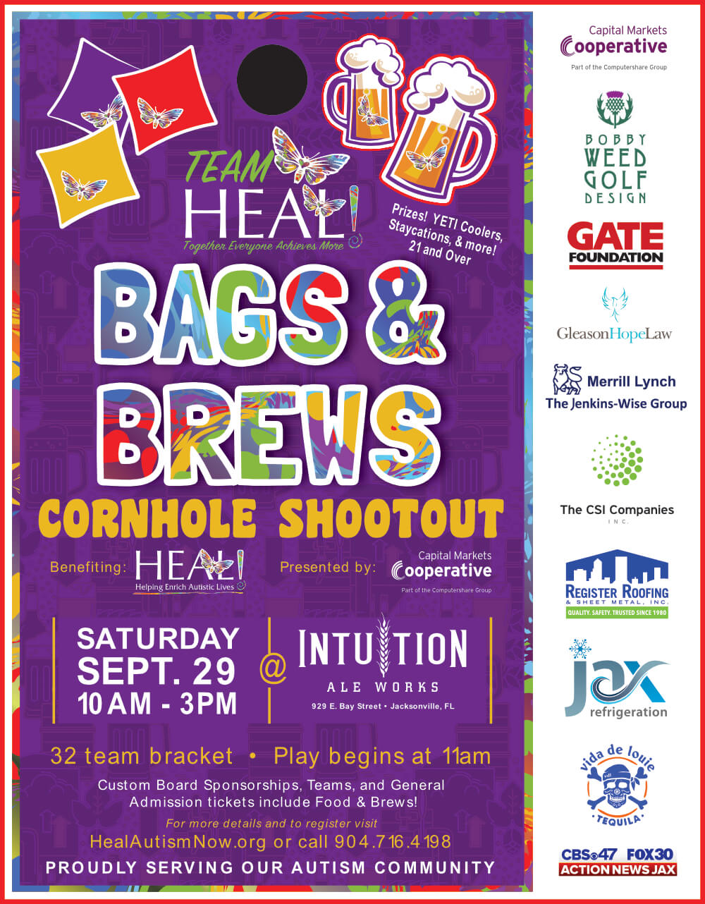 HEAL Bags & Brews
