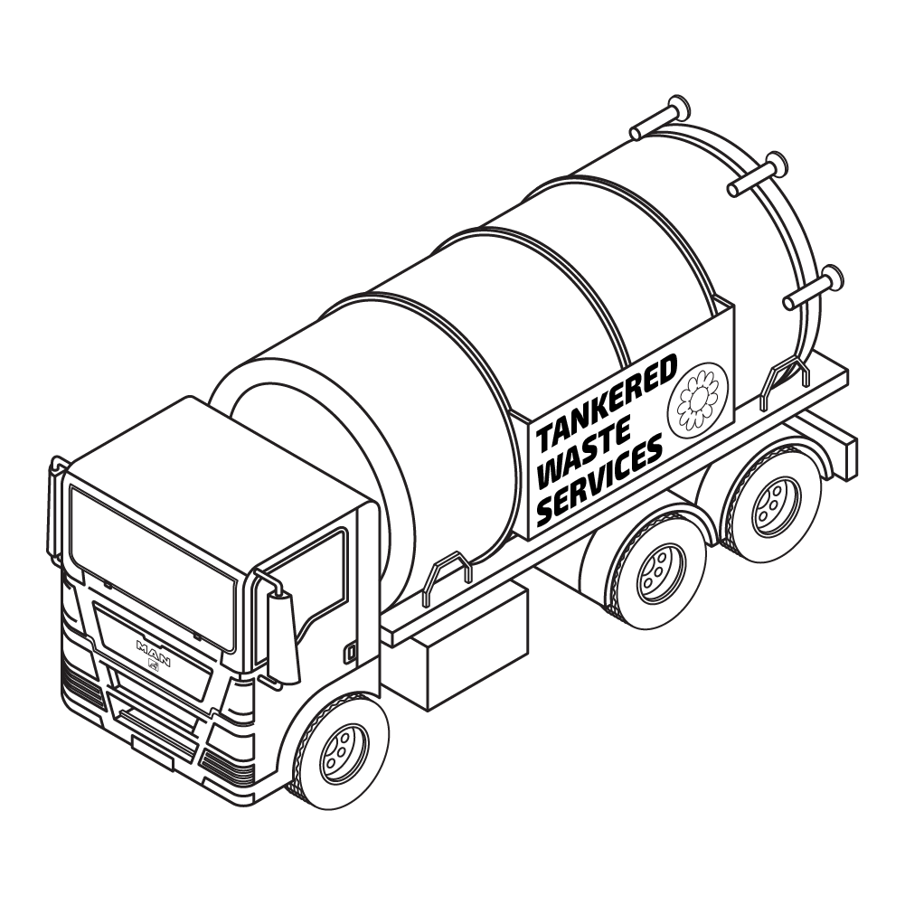 D-tox waste tanker  - transporting waste and effluent in the Midlands