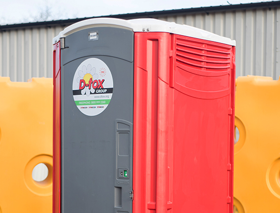Portable toilet hire for your site sanitation needs