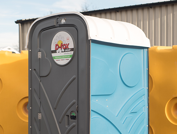 Site welfare mains connected toilet hire