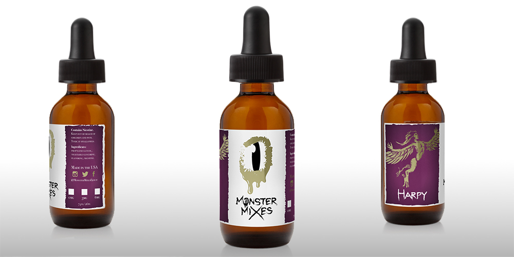 E-juice product virtual for Harpy