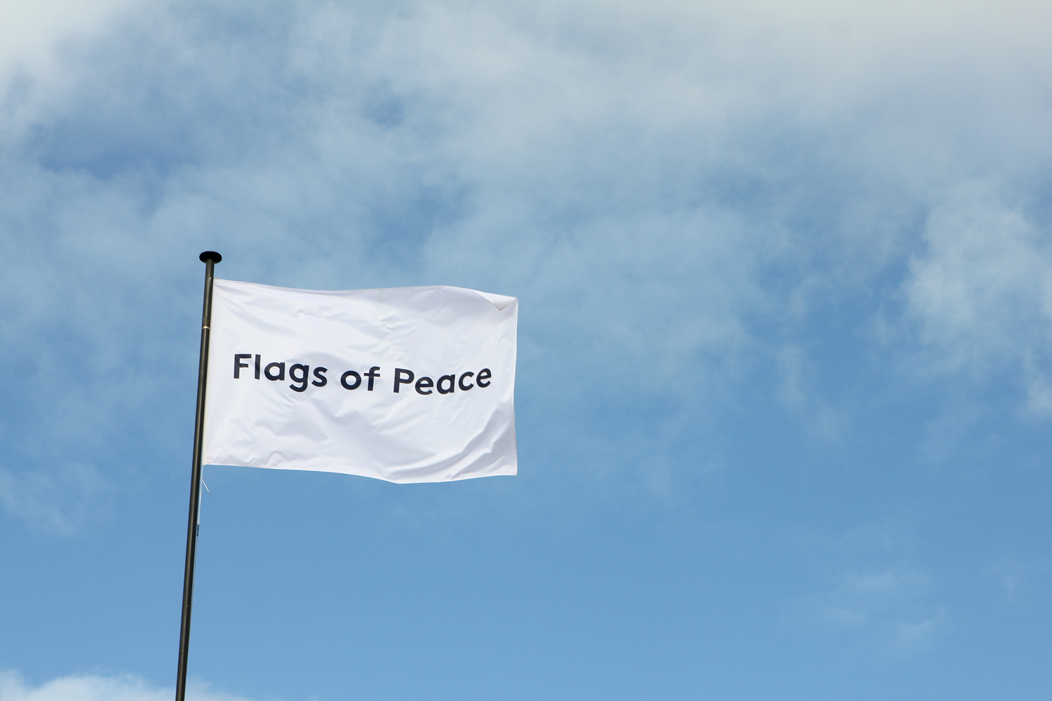 Flags Of Peace Creating An International Visual Dialogue On Peace