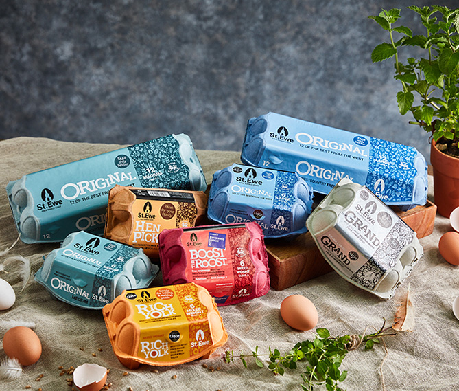 St Austell packaging design