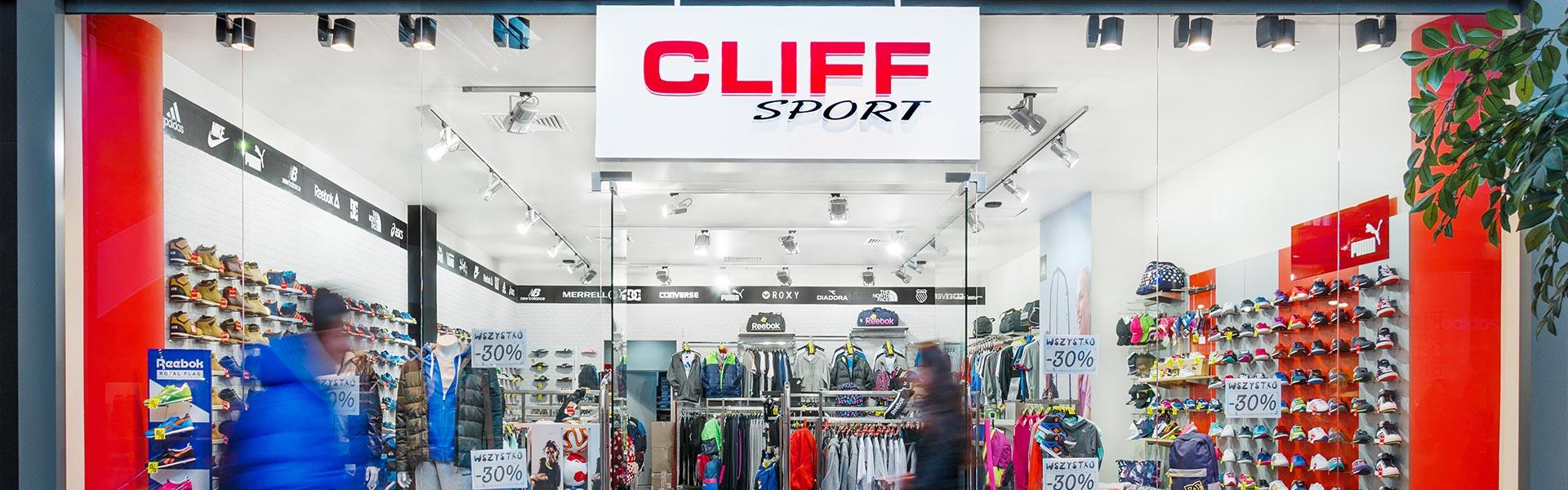 sklep cliff sport w galerii
