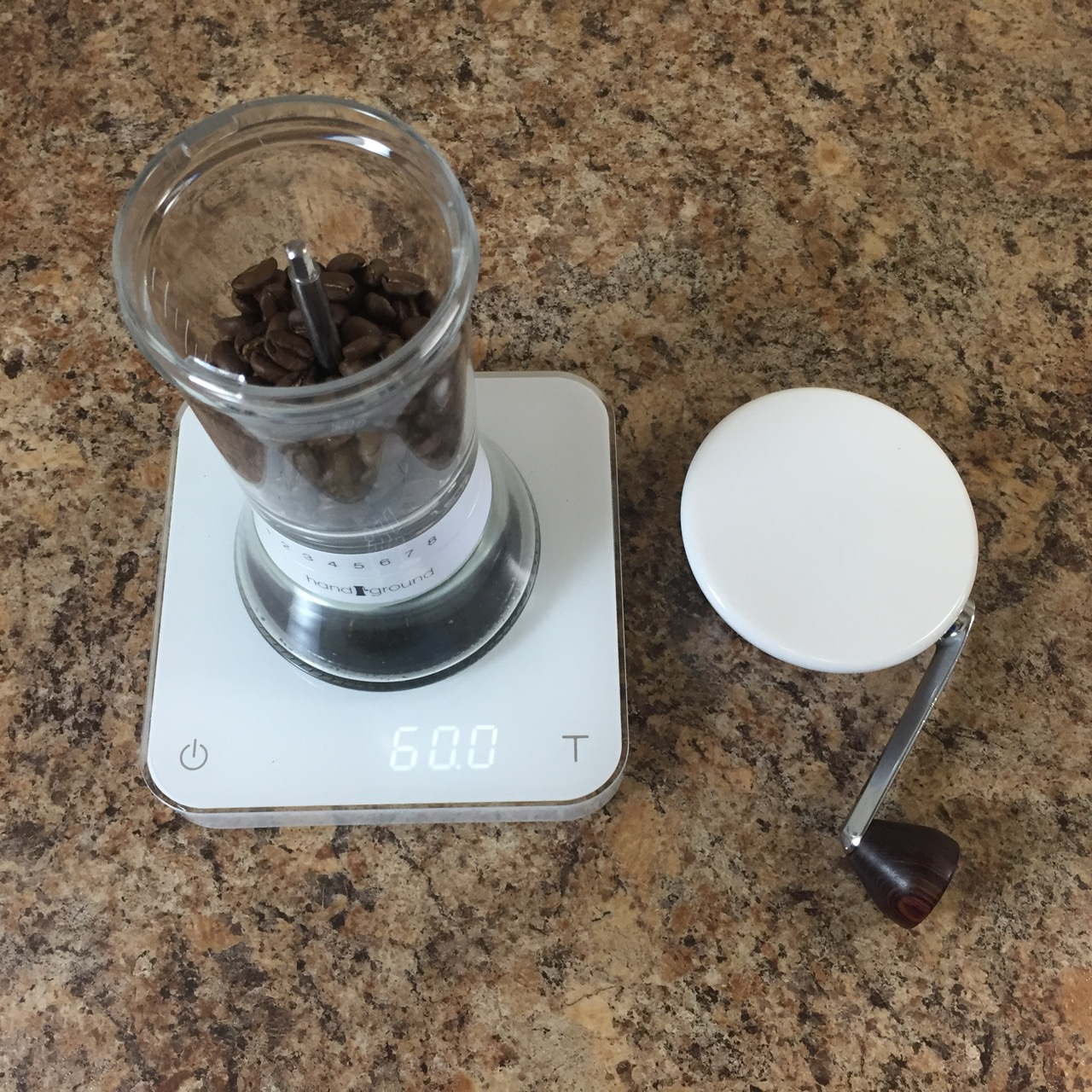 Grind coffee for French Press