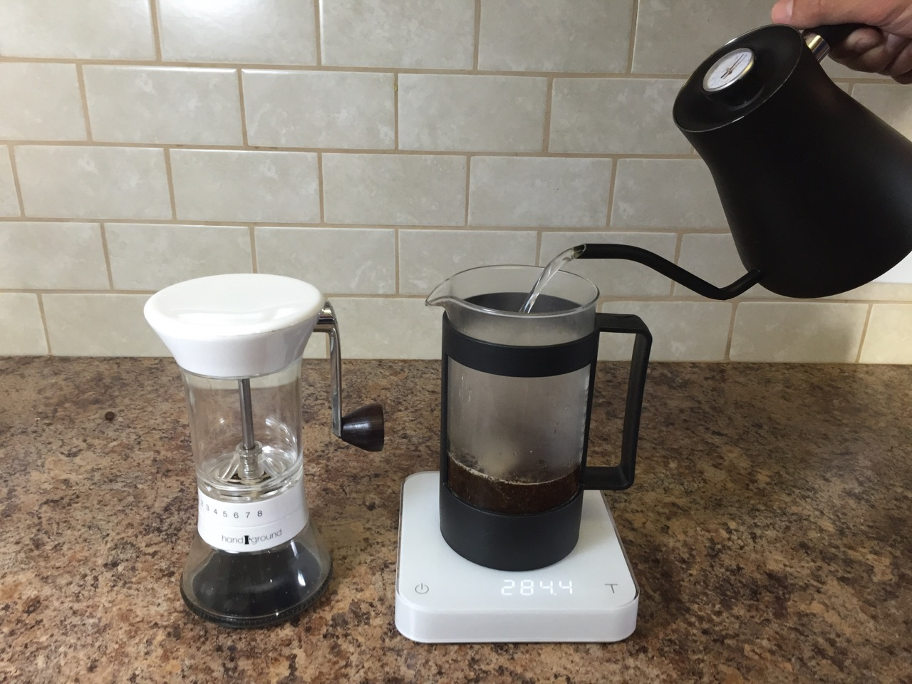 brewing french press