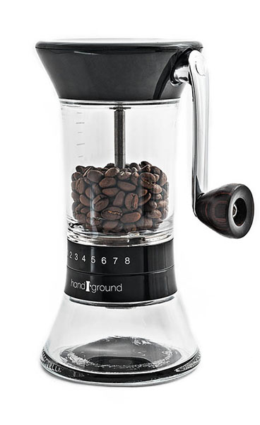 Handground Coffee Grinder in Black