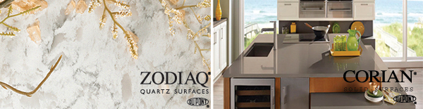 Zodiac and Corian Countertops