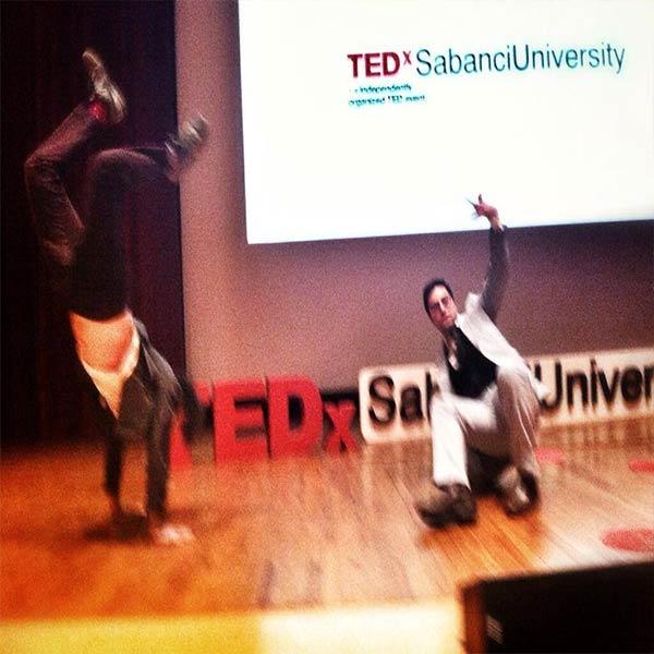 TEDx Konuşmasına tişört