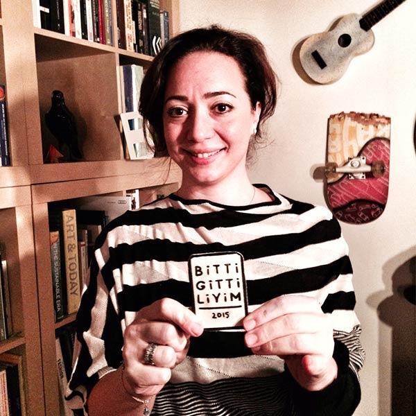 2015 Aralık'ta Bitti Gitti Li oldum!